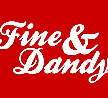 Fine & Dandy Extras: Red by M  Bianchi