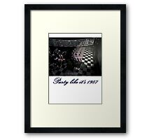 Five Nights at Freddy's 2: Party Like It's 1987 (Feat. Mangle) Framed Print