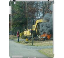 Almost Breaking The Law iPad Case/Skin