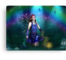 Dawn Mist Fairy Canvas Print