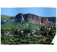 A Perched Vilage in Alpes-de-Haute-Provence, France Poster