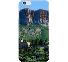 A Perched Vilage in Alpes-de-Haute-Provence, France iPhone Case/Skin