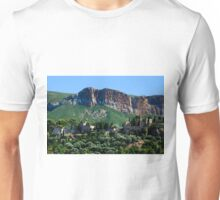 A Perched Vilage in Alpes-de-Haute-Provence, France Unisex T-Shirt