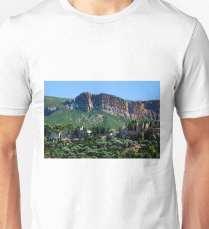 A Perched Vilage in Alpes-de-Haute-Provence, France Unisex T-Shirt