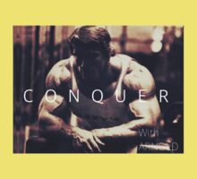 Conquer with Arnold Schwarzenegger One Piece - Short Sleeve