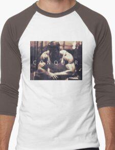 Conquer with Arnold Schwarzenegger Men's Baseball ¾ T-Shirt