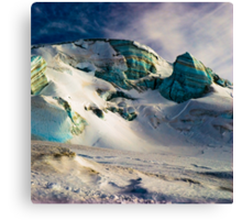 surreal ice structures Canvas Print
