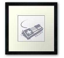 NES RETRO Classic Framed Print