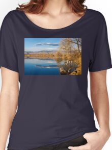 Colorado Rocky Mountain Lake Reflection View Women's Relaxed Fit T-Shirt