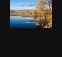 Colorado Rocky Mountain Lake Reflection View T-Shirt