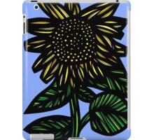 Auburn Flowers Yellow Blue Green iPad Case/Skin