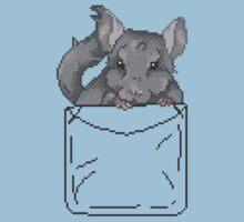 Pixel Pocket Chinchilla by Samantha Royle