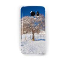 Winter Season on the Plains Portrait Samsung Galaxy Case/Skin