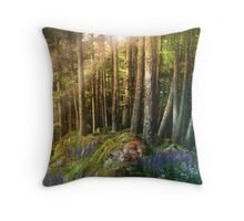 Fox Haven Throw Pillow