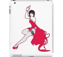Ada pin-up iPad Case/Skin