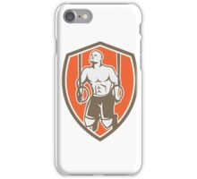 Cross-fit Ring Dip Shield Retro iPhone Case/Skin
