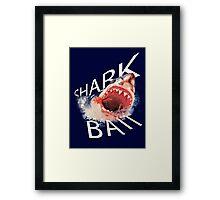 Shark Bait! Framed Print