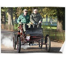 Steam powered car Poster