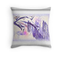 Snow Birds Throw Pillow