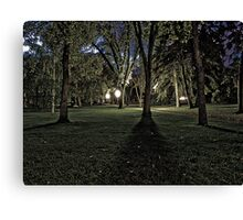 Long Shadows of Summer Canvas Print