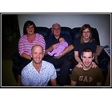 Four Generations Photographic Print