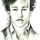 Heath Ledger by Captain Ash The Dork Knight