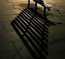 Lonely Benches by Louis-Thibaud Chambon