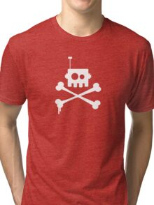 Robot Pirate Tri-blend T-Shirt