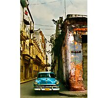 havana street scene Photographic Print
