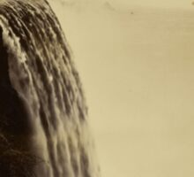 Niagara Falls around 1888 Photograph Sticker