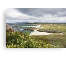 Sanna Bay on the Ardnamurchan Peninsula. Metal Print