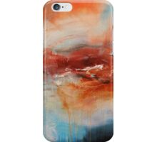 The Rose - Red Blue Abstract Art  iPhone Case/Skin