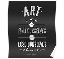 Art Enables Us Poster