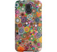 Childhood Dreams, a colourful spirograph drawing! Samsung Galaxy Case/Skin