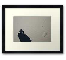 What lies beyond? Framed Print