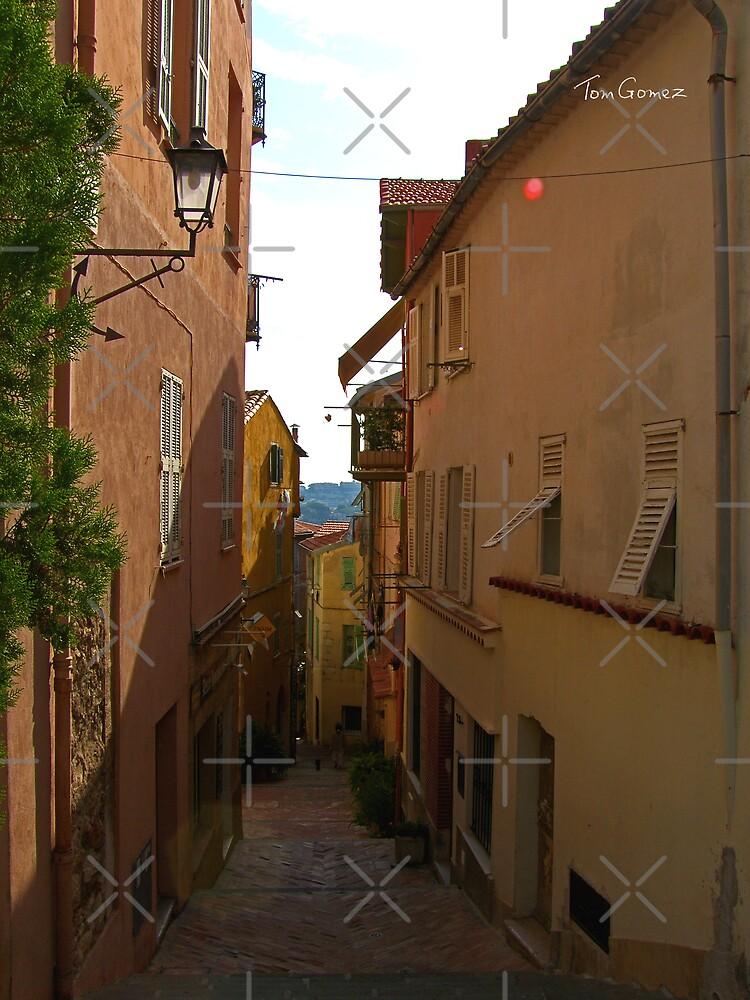 Cobbled Alleyway by Tom Gomez