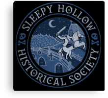 Sleepy Hollow Historical Society Canvas Print