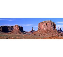 Monument Valley Arizona Panorama Photographic Print