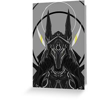 Anubis The God Of Death Greeting Card