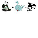 Evolution of the Sea Panda by Jeff Newell