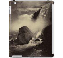 Niagara Falls around 1888 Photograph iPad Case/Skin