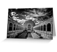 War Memorial - Canberra Greeting Card