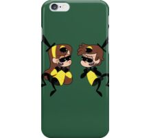 Cipher Twins iPhone Case/Skin