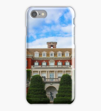 South Terrace - Westbury House | Old Westbury, New York  iPhone Case/Skin