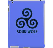 SourWolf (blue) iPad Case/Skin