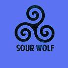 SourWolf (blue) by iheartgallifrey
