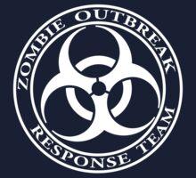 Zombie Outbreak Response Team - dark Kids Tee