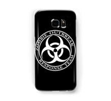 Zombie Outbreak Response Team - dark Samsung Galaxy Case/Skin