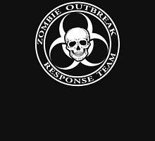 Zombie Outbreak Response Team w/ skull - dark Unisex T-Shirt