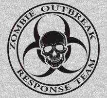 Zombie Outbreak Response Team w/ skull - light Kids Clothes